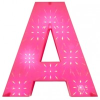 Light Up Initial Wall Decor