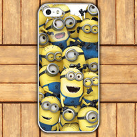 iphone 5 caseyellow despicable me minion cartoon style  by mycases