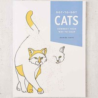 Dot-To-Dot Cats: Connect Your Way To Calm By Karine Naye