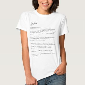 Ballet Definition Personalized T Shirt