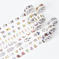 1 x 2cm*5m Life items Flower basket washi tape DIY decoration scrapbooking planner masking tape adhesive tape kawaii stationery