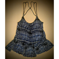 Free People babydoll top  size small -.