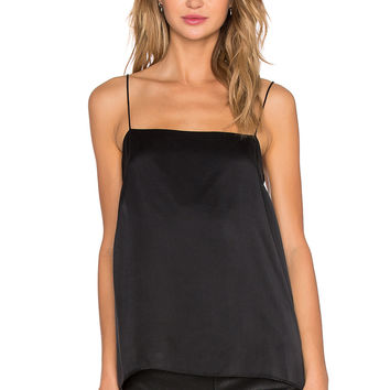 Zimmermann Sueded Cami in Black