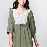 The Woven One Tunic Dress