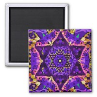 Purple Star Mandala