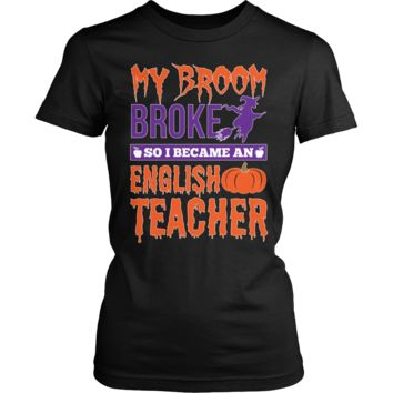 English - My Broom Broke