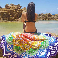 Cupshe Sunshine On My Shoulders Beach Towel