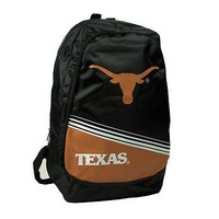 Texas Longhorns Official NCAA Stripe Core Backpack Forever Collectibles 054486