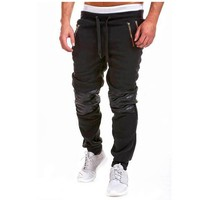Brand Men Pants Hip Hop Harem Joggers Pants 2017 Male Trousers Mens Joggers Solid Pants Sweatpants