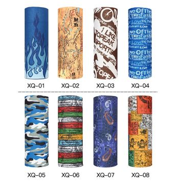 Men's Bicycle Bandana Scarf Face Mask Headscarfs Cotton Bandana Double-sided Head Wrap Bandana Scarf Wristband for Women