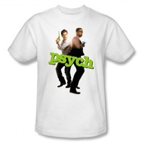 Psych Hands Up Cast Photo NBC TV Show T-Shirt Tee