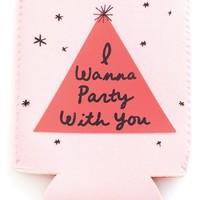 ban.do 'Too Cold to Hold - I Wanna Party with You' Drink Sleeve