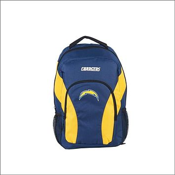 """Chargers OFFICIAL National Football League, """"""""Draft Day"""""""" 18""""""""H x 10"""""""" (12"""""""" Back) Backpack  by The Northwest Company"""