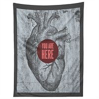 Wesley Bird You Are Here Tapestry