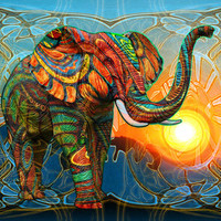 Elephant's Dream Art Print by Waelad Akadan | Society6