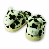 The Babymio Collection Slippers, Mooky the Cow, 24 Months