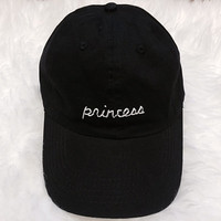 Princess Embroidered Baseball Cap