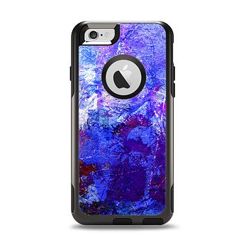 The Abstract Blue & Pink Surface Apple iPhone 6 Otterbox Commuter Case Skin Set