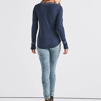 Novelty Henley | Lucky Brand