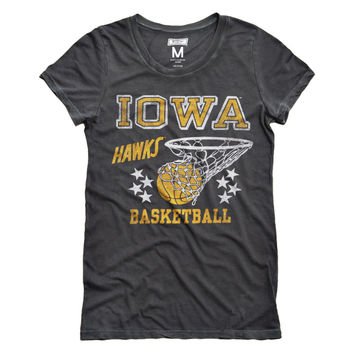 Iowa Hawks Women's Basketball T-Shirt