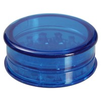 Acrylic Herb Grinder - 3-part - Choice of 5 colors