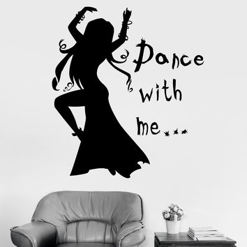 Vinyl Wall Decal Quote Dance Woman Girl Room Passion Art Stickers Unique Gift (ig3437)