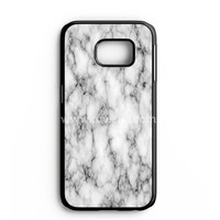 White Marble Samsung Galaxy Note 7 Case | aneend