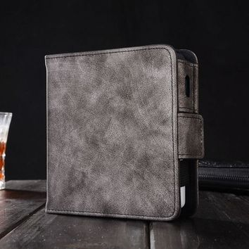 Kogngu for IQOS 2.4 Plus Pouch Bag Protective Holder Cover Box Wallet Case Electronic Cigarette IQOS PU Leather Carrying Case