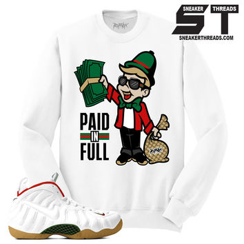 Sweater match foamposite white gucci sneaker match foam gucci sweaters. | Sneaker Threads | Sneaker Match Tees Shirts Store