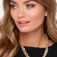 Such a Linker Gold Chain Necklace