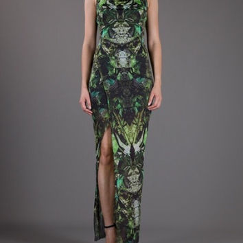 Helmut Lang Cicada Print Dress