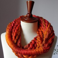 MINI LOOP SCARF by Silvia66 on Etsy