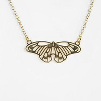 Urban Outfitters - Kris Nations Mariposa Necklace