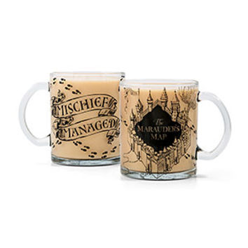 Harry Potter Marauder's Map 17oz Glass Mug