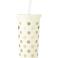 kate spade new york Insulated Tumbler with Straw | macys.com