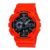 G-Shock Military Rescue XL Multifunction Watch - Black/Orange