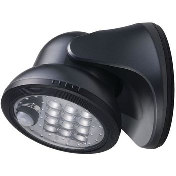 Light It! 20034-104 12-LED Wireless Porch Light (Charcoal)