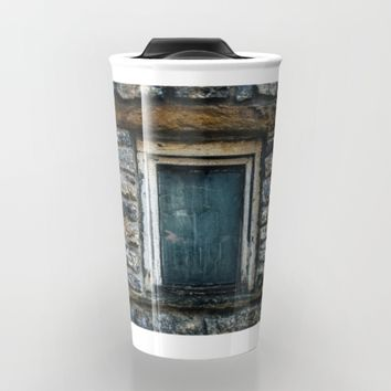 Who's That Peepin' In The Window? Travel Mug by Mixed Imagery