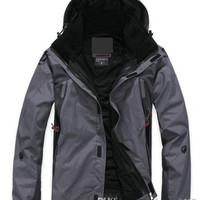 NEW Outdoor Climbing clothes fashion two-piece men sports coat Winter waterproof men's skiing jacket