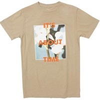 It's About Time Flowers graphic tee by Altru Apparel