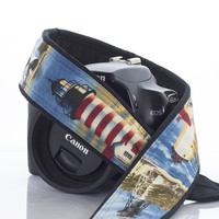 124 Lighthouse Camera Strap