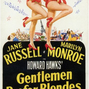 Gentlemen Prefer Blondes 11x17 Movie Poster (1953)