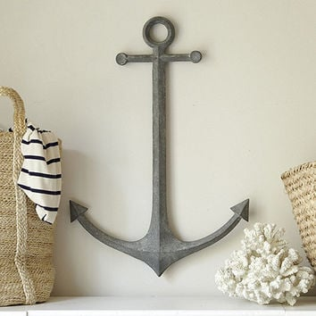 Metal Anchor Wall Decor