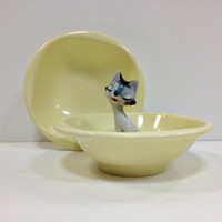 Yellow Boontonware Melmac Bowls Belle by vintage19something