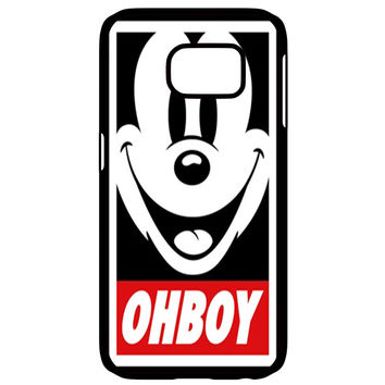 Mickey Mouse Obey OHBOY Samsung Galaxy S6 Edge Case