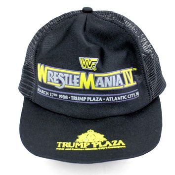 WWF WRESTLEMANIA 4 HAT