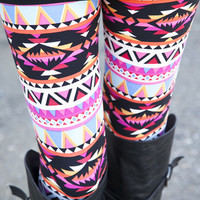 Aztec Sunset Leggings