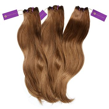 3 x Straight Colored Weave Bundle Deal