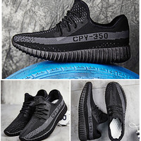 """Yeezy"" Male Female Fashion Coconut Casual Breathable Non-slip Sneakers Run Shoesoes"