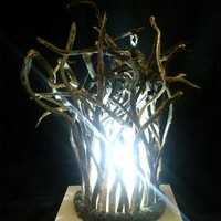 BoGaLeCo.com / Ligths / Lamps / driftwood / Hair Fairy Lamp